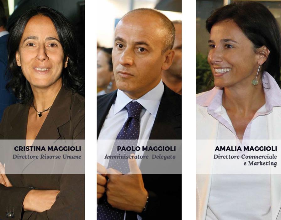 Famiglia Maggioli - Cristina Maggioli - Paolo Maggioli - Amalia Maggioli