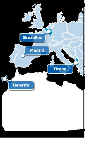 Gruppo Maggioli - Sedi Europa