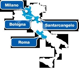 Gruppo Maggioli - Sedi Italia