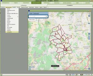 Il modulo cartografico è accessibile dai vari moduli di Sicr@Web